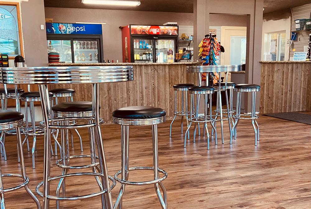 Oak Knoll Pro Shop interior